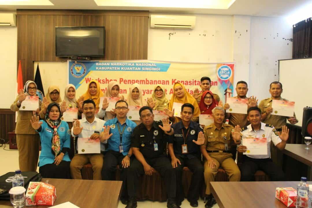 Workshop Pengembangan Kapasitas dan Pembinaan Masyarakat Anti Narkoba di Instansi Pemerintah