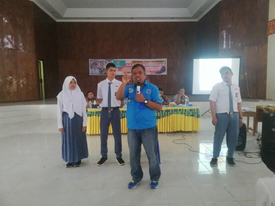 Sosialisasi Bahaya Penyalahgunaan Narkoba kepada Pelajar di Kecamatan Hulu Kuantan (7/12/2019)