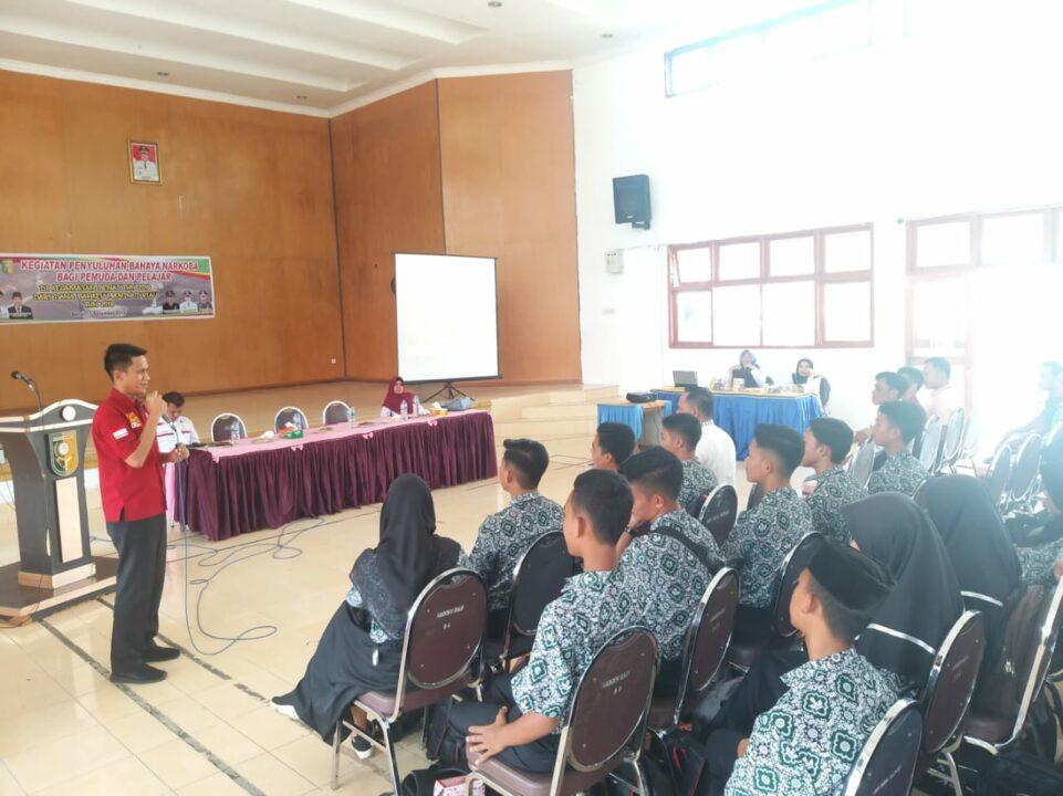 Penyuluhan Bahaya Narkoba bagi Pemuda & Pelajar di Kecamatan Benai (11/12/2019)