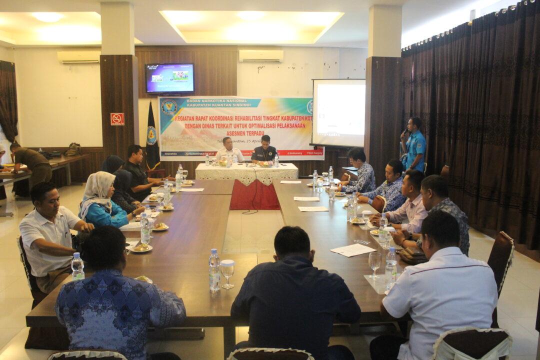 Rapat Koordinasi Rehabilitasi Tingkat Kabupaten / Kota